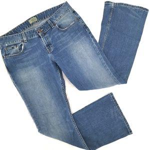 BKE Women's 33 Mid Cotton Culture Stretch Boot Cut